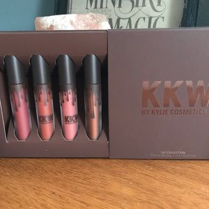 KKW x Kylie Lip Set